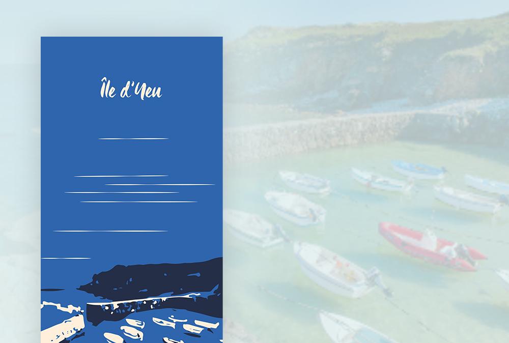 Orgo - Port-Trait - Ile d'Yeu